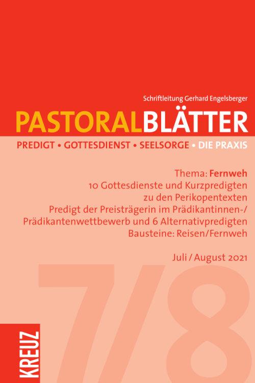Pastoralblätter 7-8/2021