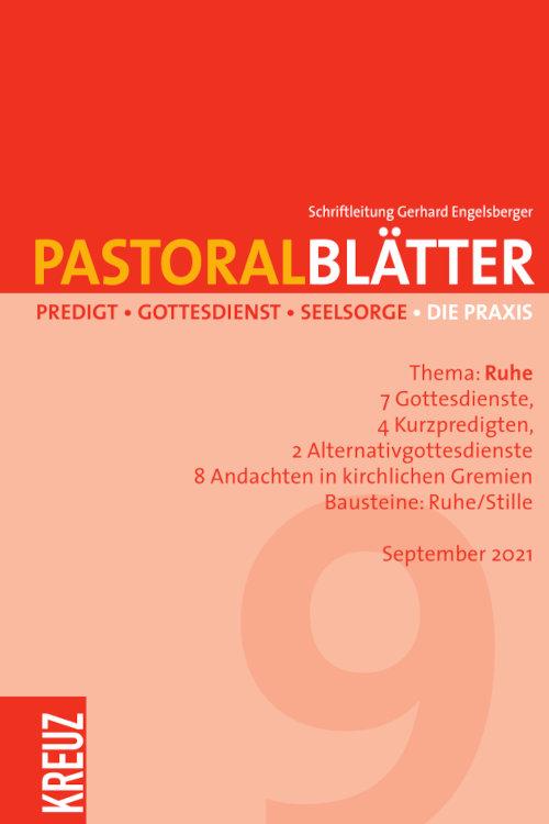 Pastoralblätter 9/2021