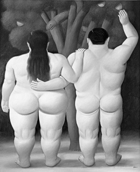 Fernando Botero, Adam und Eva