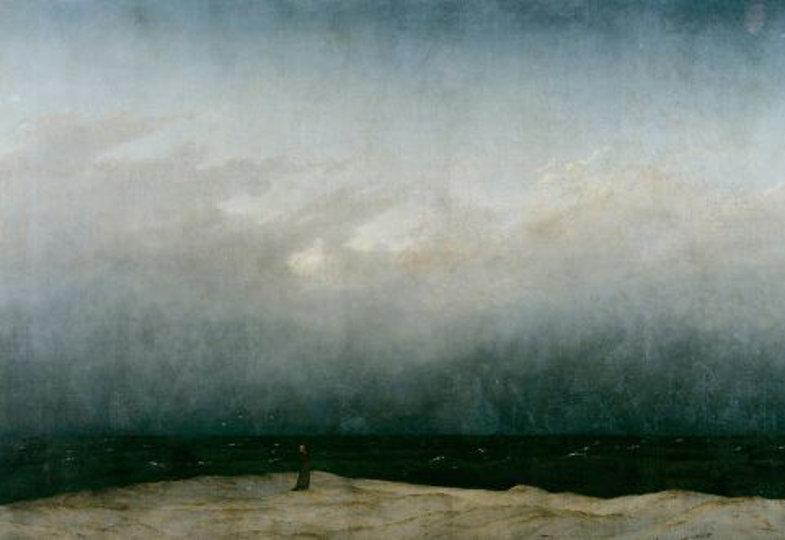 Caspar David Friedrich, Der Mönch am Meer